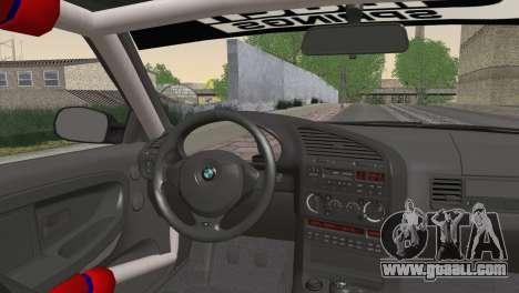 BMW M3 E36 Bridgestone v3 for GTA San Andreas back left view