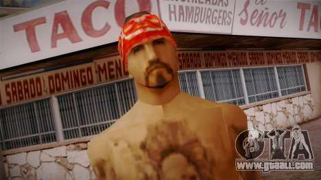 Fresno Buldogs 14 Skin 1 for GTA San Andreas third screenshot