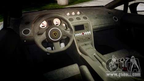 Lamborghini Gallardo LP570-4 Superleggera 2011 for GTA 4 inner view