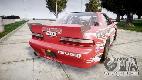 Nissan 240SX S13 D. Yoshihara for GTA 4 back left view