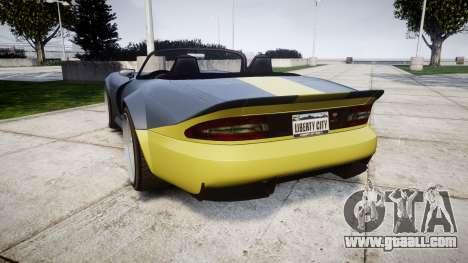 Bravado Banshee ESP for GTA 4 back left view