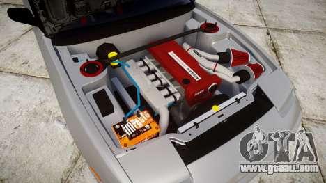 Nissan 240SX SE S13 1993 Sharpie for GTA 4 inner view