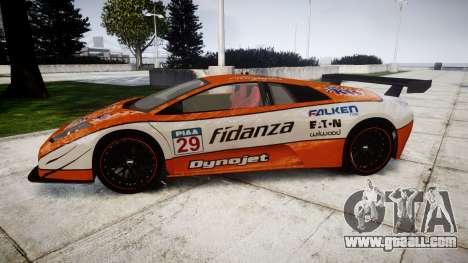 Lamborghini Murcielago LP640 R-GT for GTA 4 left view