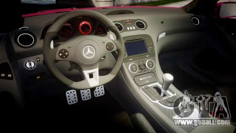 Mersedes-Benz SL65 AMG 2009 Sharpie for GTA 4 inner view