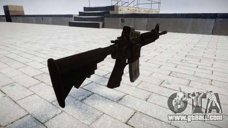Tactical M4 assault rifle Black Edition for GTA 4 second screenshot