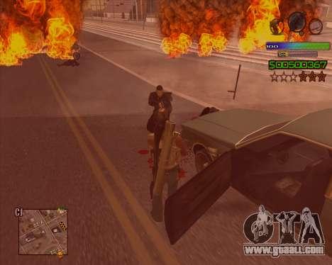 C-HUD Simple for GTA San Andreas third screenshot