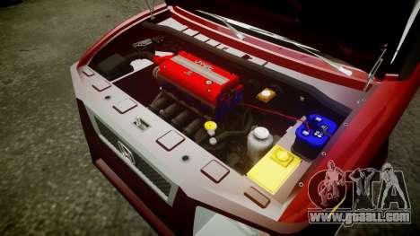Honda Element 2005 for GTA 4 inner view
