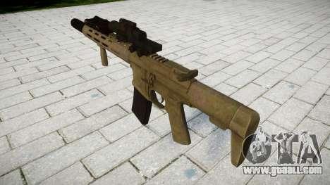 Assault rifle AAC Honey Badger [Remake] tar for GTA 4 second screenshot