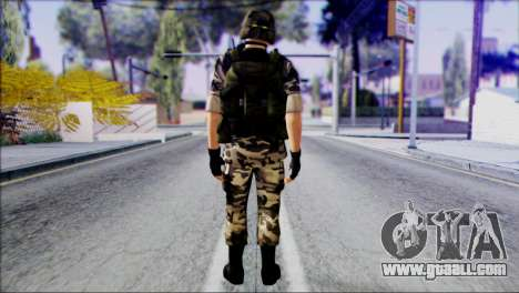 Hecu Soldier 1 from Half-Life 2 for GTA San Andreas second screenshot