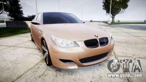 BMW M5 E60 v2.0 Wald rims for GTA 4