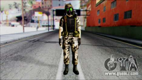 Hecu Soldier 1 from Half-Life 2 for GTA San Andreas