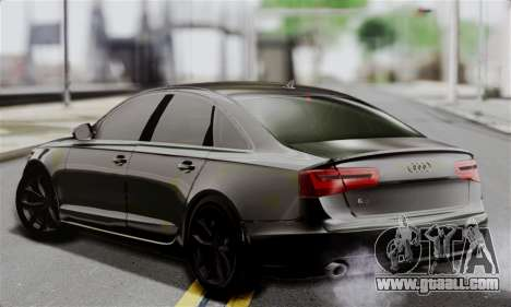 Audi A6 (C7) for GTA San Andreas left view