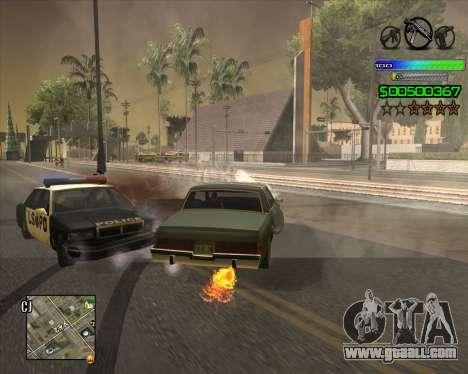 C-HUD Simple for GTA San Andreas forth screenshot