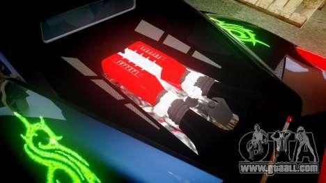 Ferrari 458 Italia 2010 v3.0 Slipknot for GTA 4 side view