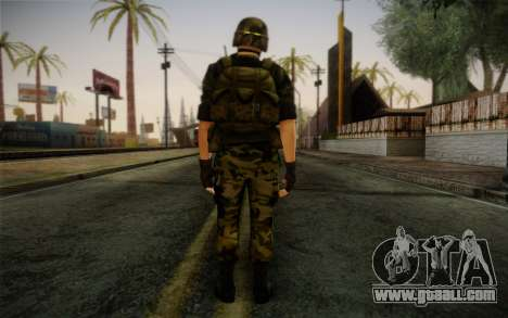 Hecu Soldier 3 from Half-Life 2 for GTA San Andreas second screenshot