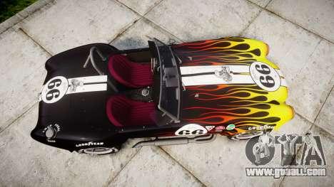 AC Cobra 427 PJ2 for GTA 4 right view