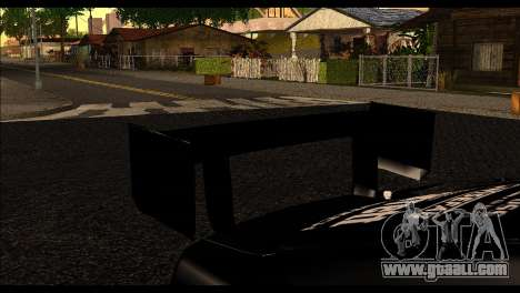 Nissan 180SX Monster Energy Spoiler for GTA San Andreas back left view