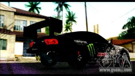 Nissan 180SX Monster Energy Spoiler for GTA San Andreas left view