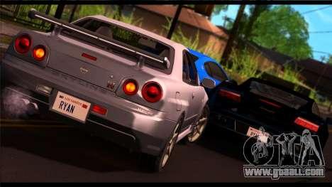 Forza Silver ENB for medium PC for GTA San Andreas second screenshot