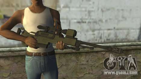 Piers Nivans Rifle from Resident Evil 6 for GTA San Andreas third screenshot
