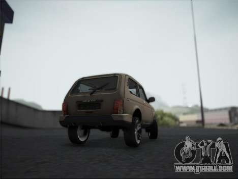 Lada Urdan for GTA San Andreas right view