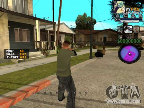 C-HUD by A. S. A. for GTA San Andreas second screenshot
