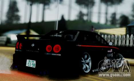 Nissan Skyline for GTA San Andreas left view