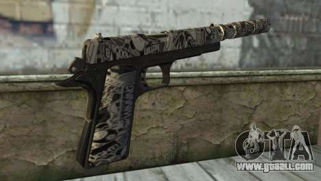 New Pistol with a Silencer for GTA San Andreas second screenshot