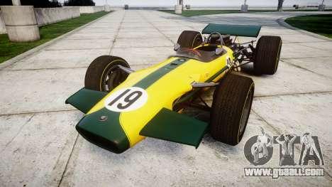 Lotus Type 49 1967 [RIV] PJ19-20 for GTA 4