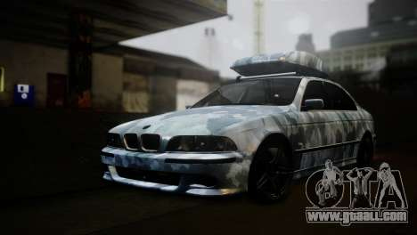 BMW M5 E39 Camouflage for GTA San Andreas
