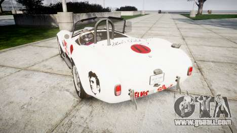 AC Cobra 427 PJ3 for GTA 4 back left view
