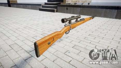 The magazine rifle Karabiner 98k for GTA 4 second screenshot