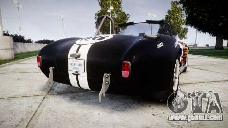 AC Cobra 427 PJ2 for GTA 4 back left view