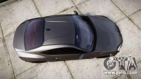 Subaru BRZ 2011 for GTA 4 right view