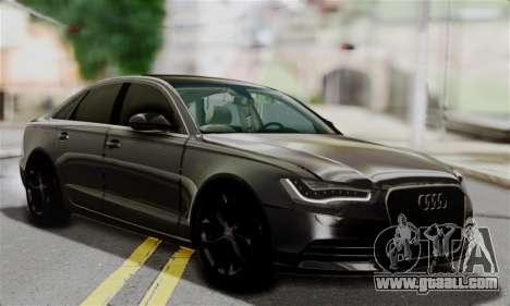 Audi A6 (C7) for GTA San Andreas
