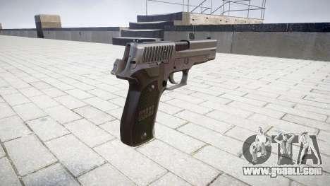 Pistol SIG-Sauer P226 for GTA 4 second screenshot