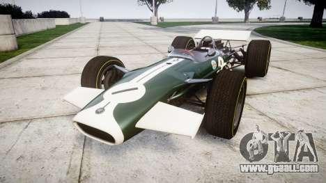 Lotus Type 49 1967 [RIV] PJ1-2 for GTA 4
