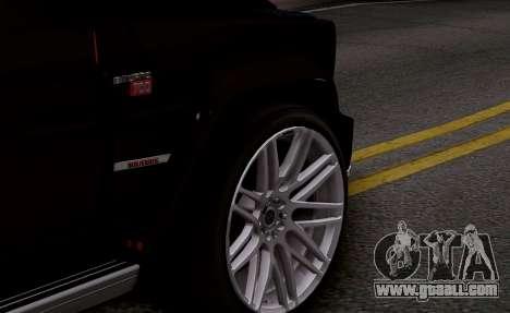Brabus 700 for GTA San Andreas back view