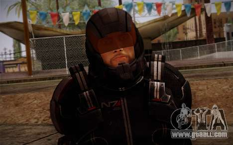 Shepard N7 Defender from Mass Effect 3 for GTA San Andreas third screenshot