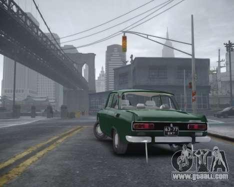 AZLK 2140 for GTA 4 left view