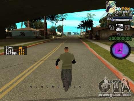 C-HUD by A. S. A. for GTA San Andreas third screenshot