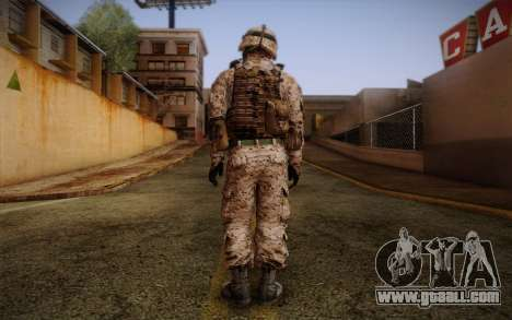 Chaffin from Battlefield 3 for GTA San Andreas second screenshot