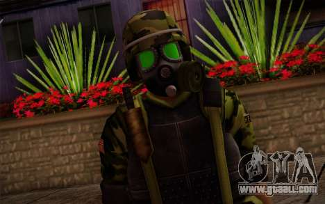 Hecu Soldiers 4 from Half-Life 2 for GTA San Andreas third screenshot