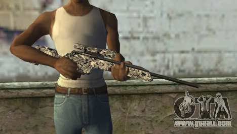 New sniper rifle for GTA San Andreas third screenshot