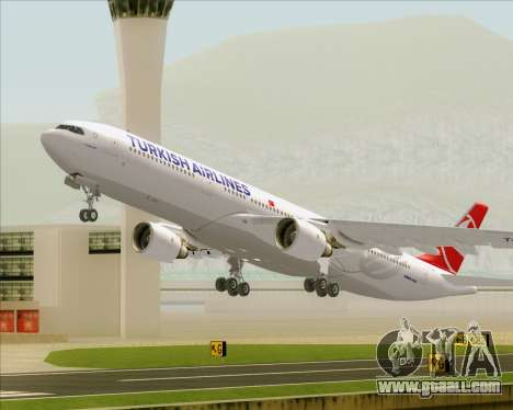 Airbus A330-300 Turkish Airlines for GTA San Andreas