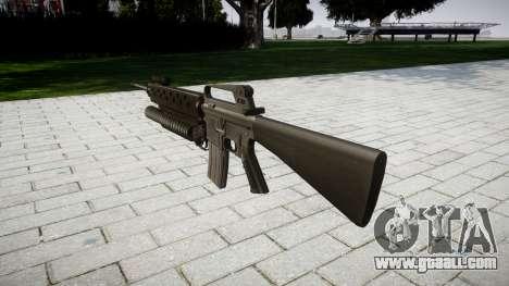 Rifle M16A2 M203 sight4 for GTA 4 second screenshot