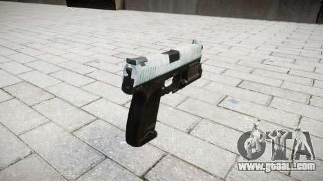 Gun HK USP 45 icy for GTA 4 second screenshot