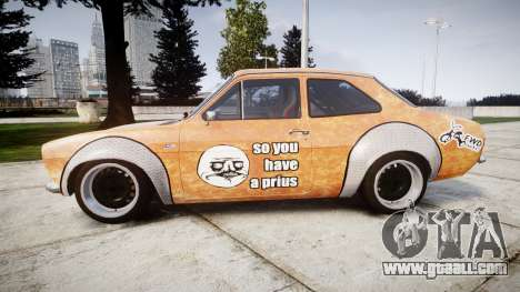 Ford Escort Mk1 Rust Rod v2.0 for GTA 4 left view