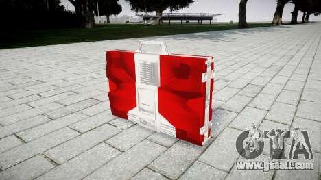 Iron Man Mark V Briefcase for GTA 4