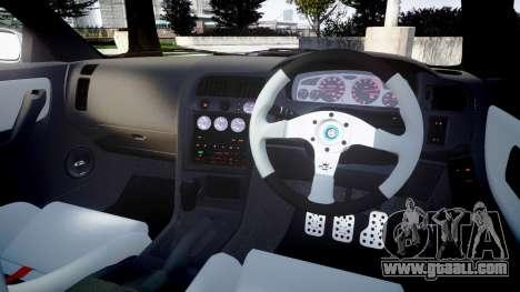 Nissan Skyline GT R33 1996 for GTA 4 side view